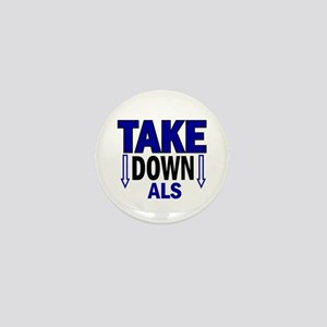 Take Down ALS 1 Mini Button