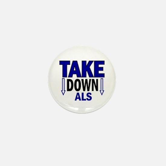 Take Down ALS 1 Mini Button
