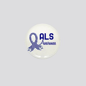 ALS Awareness Mini Button