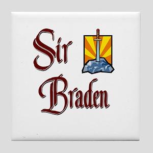 Sir Braden Tile Coaster