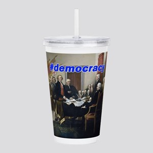 Declaration of Indepen Acrylic Double-wall Tumbler