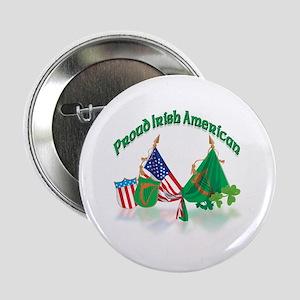 "Irish American 2.25"" Button"
