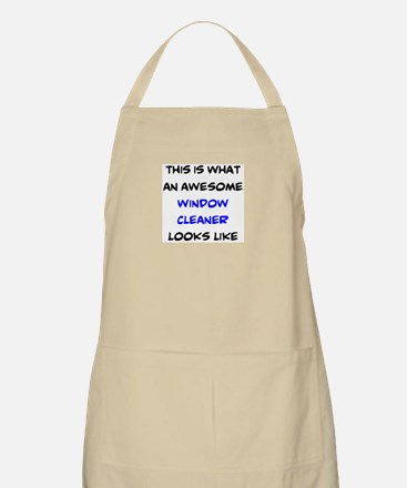awesome window cleaner Light Apron