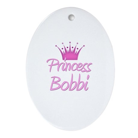 Princess Bobbi Oval Ornament
