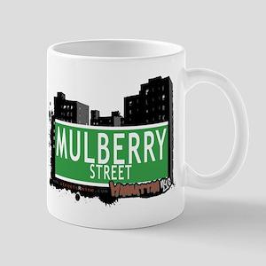 MULBERRY STREET, MANHATTAN, NYC Mug