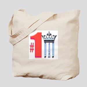 5 Star Mugs #1 Dad with crown Tote Bag