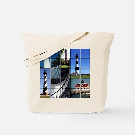 Outer Banks Lighthouses Tote Bag