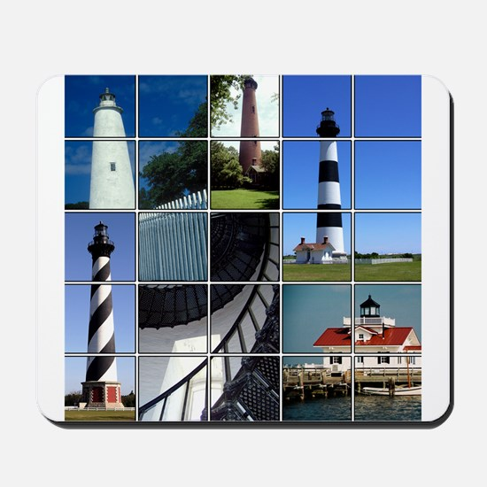 Outer Banks Lighthouses Mousepad