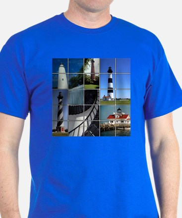 Outer Banks Lighthouses T-Shirt