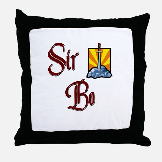 Sir Bo Throw Pillow