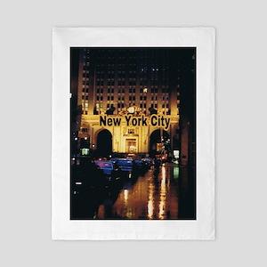 New York City Twin Duvet Cover