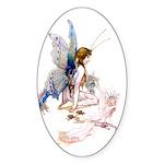 GOSSAMER FAIRY Oval Sticker