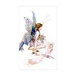 GOSSAMER FAIRY Rectangle Sticker 50 pk)