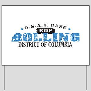 Bolling Air Force Base Yard Sign