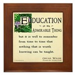 Education Framed Tile