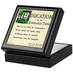 Education Keepsake Box