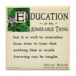 Education Tile Coaster