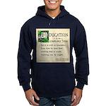 Education Hoodie (dark)