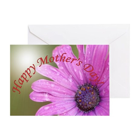 corner daisy happy mothers day card Greeting Cards