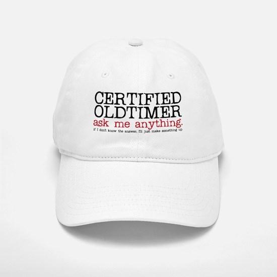 Certified Oldtimer Baseball Baseball Cap