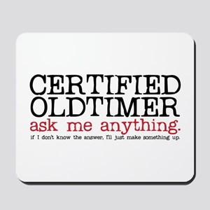 Certified Oldtimer Mousepad