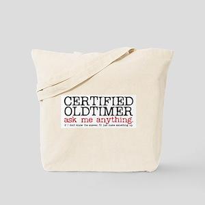 Certified Oldtimer Tote Bag