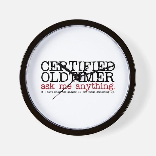 Certified Oldtimer Wall Clock