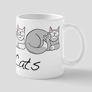 I Heart Cats Mug