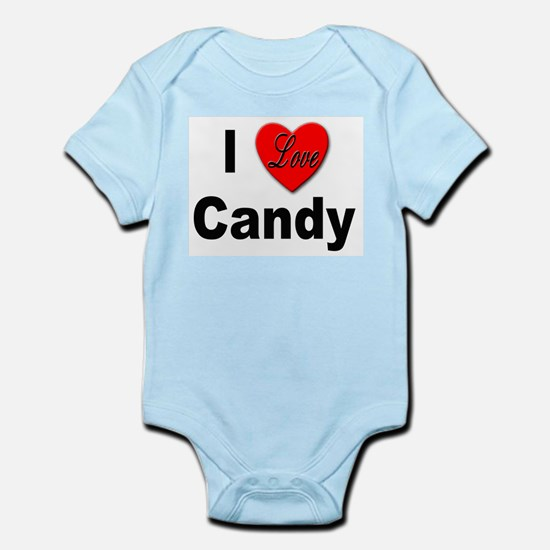 I Love Candy Infant Creeper