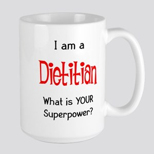 dietitian 15 oz Ceramic Large Mug