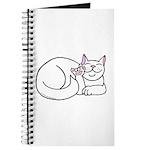 White ASL Kitty Journal