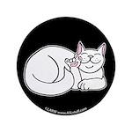 White ASL Kitty Black 3.5