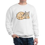 OrangeTabby ASL Kitty Sweatshirt