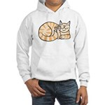 OrangeTabby ASL Kitty Hooded Sweatshirt