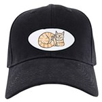 OrangeTabby ASL Kitty Black Cap