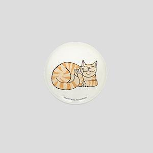 OrangeTabby ASL Kitty Mini Button