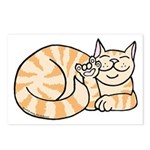 OrangeTabby ASL Kitty Postcards (Package of 8)