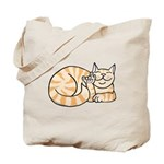 OrangeTabby ASL Kitty Tote Bag