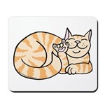 OrangeTabby ASL Kitty Mousepad