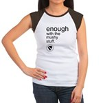 Enough Mushy Stuff Women's Cap Sleeve T-Shirt