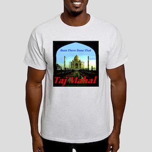 Taj Mahal Ash Grey T-Shirt