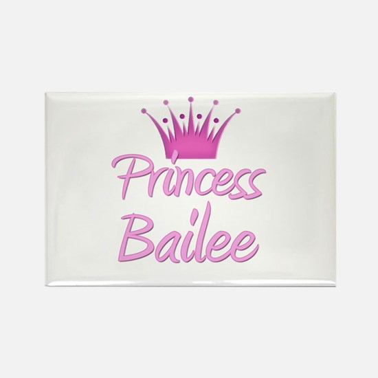 Princess Bailee Rectangle Magnet