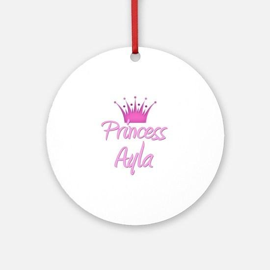Princess Ayla Ornament (Round)