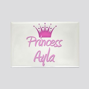 Princess Ayla Rectangle Magnet