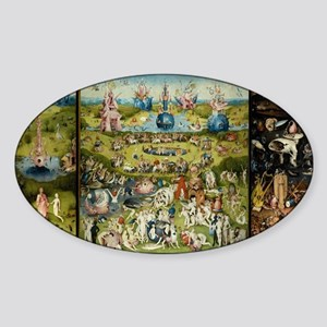 Hieronymus Bosch Garden Of Earthly Delight Sticker