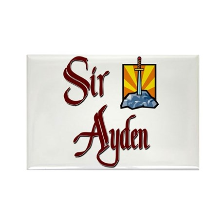 Sir Ayden Rectangle Magnet (10 pack)