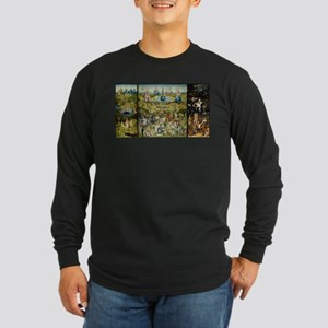 Hieronymus Bosch Garden Of Ear Long Sleeve T-Shirt