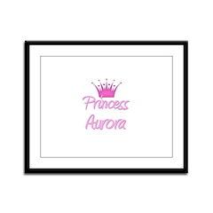 Princess Aurora Framed Panel Print