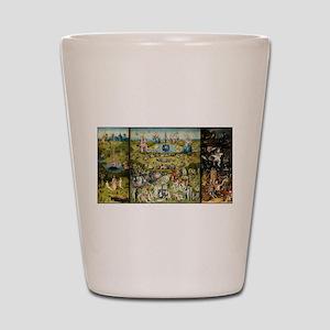 Hieronymus Bosch Garden Of Earthly Deli Shot Glass