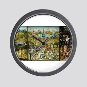 Hieronymus Bosch Garden Of Earthly Deli Wall Clock
